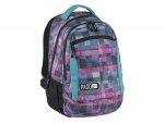 Plecak Młodzieżowy Szkolny Kolorowa Kratka Unique 17-2808UI