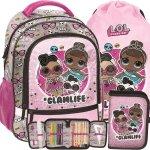 Lol Surprise Plecak Szkolny do 1 Klasy dla Dziewczynki Paso [LOD-260]
