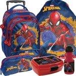 Plecak z Kółkami SpiderMan do Szkoły Zestaw dla Chłopaka [SPU-300]