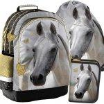 Koń na Plecaku Szkolnym dla Dziewczynki Komplet Konie [PP19H-116]