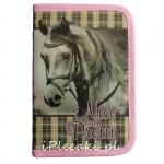 Piórnik Koń Konie Szkolny dla Dziewczyny z Wyposażeniem [607118]