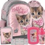 Plecak w Koty Szkolny Kot na Zajęcia Szkolne [PJC-116]