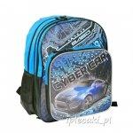 Plecak Szkolny dla chłopaka z Autem Cyber Car [13-162C]