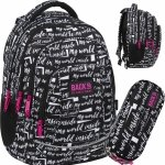 Plecak z Napisami Młodzieżowy BackUP Szkolny dla Uczennicy [PLB3A09]