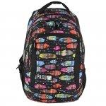 Plecak Młodzieżowy dla Dziewczyny Szkolny Piórka [17-2808UA]
