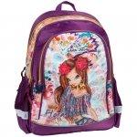 Winx Plecak Szkolny Fairy dla Dziewczyny Fioletowy [WXC-081]