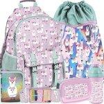 Plecak Lamy Szkolny z Lamami dla Dziewczyny Paso [PP19LA-810]