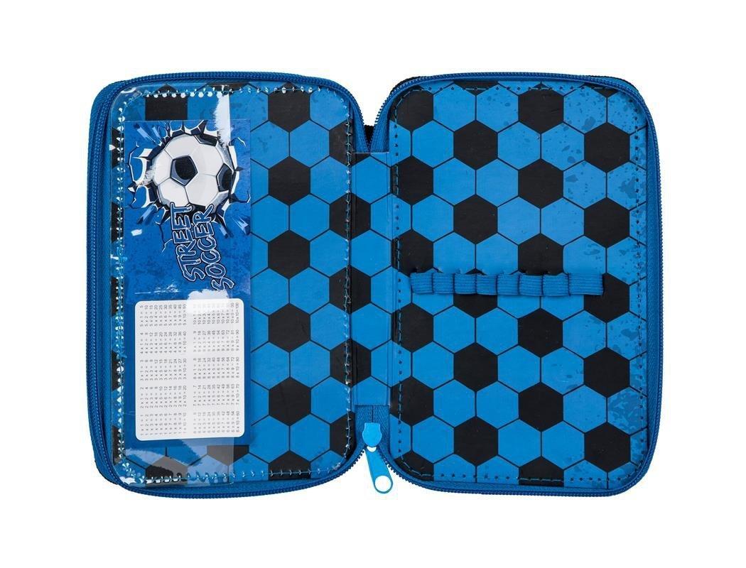142f61d1b9ba1 Piórnik Piłka Nożna Szkolny dla Chłopaka Dwukomorowy