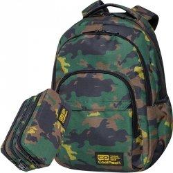 Kamuflaż Plecak CP CoolPack Szkolny Młodzieżowy Basic MILITARY JUNGLE [C03179]