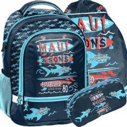 Maui Plecak Szkolny Sons dla Nastolatka Niebieski [MAUL-260]