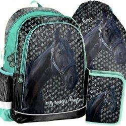 Szkolny Plecak w Konie dla Dziewczyny Zestaw Koń [PP19KN-081]