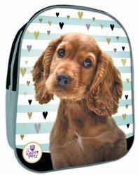 Plecaczek 3D Plecak z Pieskiem Spaniel dla Przedszkolaka na Wycieczki [607098]
