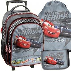 Plecak na Kółkach Zygzak Cars Szkolny dla Chłopaka [DSA-300]