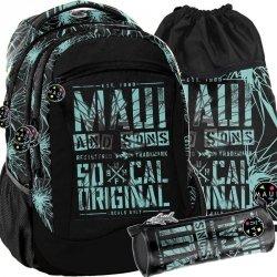 Maui&Sons Plecak Chłopięcy Młodzieżowy Szkolny [MAUD-2808]