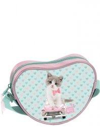 Torebka na Ramię Torebeczka dla Dziewczynki z Kotkiem Kot [PET-301]