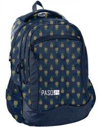 Plecak Młodzieżowy Szkolny Złote Ananasy Dziewczęcy [PPMA19-2808]