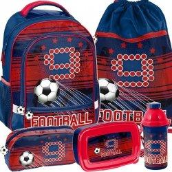 Plecak do Szkoły Piłka Nożna Zestaw dla Ucznia [PP19FT-260]
