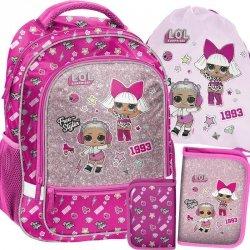 Plecak dla Dziewczynki Lol Surprise do Szkoły [LOA-260]