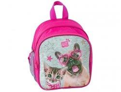 Plecak z Kotkiem Pieskiem do Przedszkola dla Dziewczynki