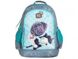 Plecak Szkolny z Kotkiem Kot Pieskiem Pies do Szkoły PEF-116
