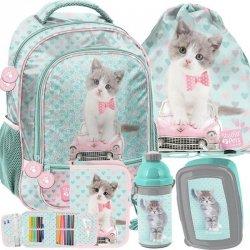 Plecak z Kotkiem Kotkami dla Dziewczyny Szkolny [PET-260]