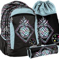 Plecak Młodzieżowy Lekki Maui&Sons Dziewczęcy [MAUF-2808]
