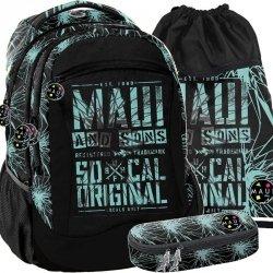 Plecak Chłopięcy Młodzieżowy Szkolny Maui&Sons [MAUD-2808]