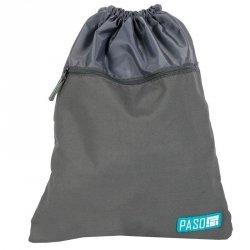 Worek na Buty Obuwie Gimnastyczny Młodzieżowy Plecak Szary [17-713UP]