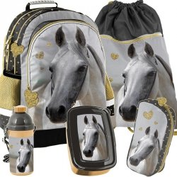 Plecak z Koniem dla Dziewczyny Szkolny Zestaw [PP19H-116]