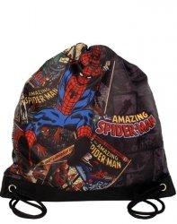 Worek Spiderman Szkolny na Wf Obuwie Kapcie Chłopięcy [SPA-712]
