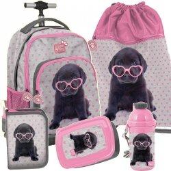 Plecak na Kółkach Labrador Piesek dla Dziewczyny [PTB-887]