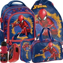 Plecak SpiderMan Szkolny Zestaw dla Chłopaka [SPU-260]