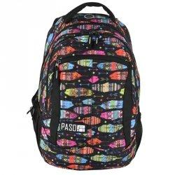 Plecak Młodzieżowy dla Dziewczyny Szkolny Piórka