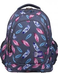 St.Right Plecak Młodzieżowy Szkolny Indian Feathers [BP6]