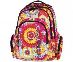 Plecak Młodzieżowy CP CoolPack Szkolny w Duże Kwiaty