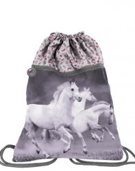 Duży Worek w Konie na Obuwie Buty dla Dziewczynki [PP19HS-713]