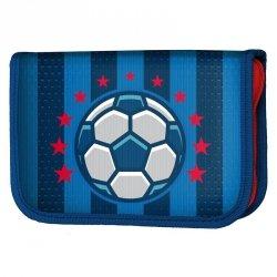 Piórnik z Piłką Soccer Szkolny dla Chłopaka z Wyposażeniem