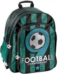 Plecak Szkolny Piłka Nożna dla Chłopaka z Piłką [PP19F-090]