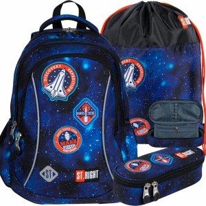 Nasa Plecak Szkolny St.Right dla Chłopaka Misja Kosmiczna [BP26]