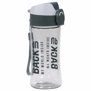 Szary Bidon Pojemnik na Picie Backup Tritanum Free BPA [BB3A]