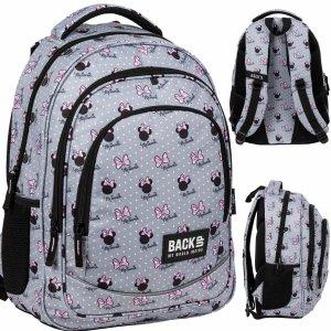 Plecak Myszka Minnie BackUP Szkolny Młodzieżowy Szary [PLB3XMM60]