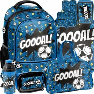 Plecak Piłka Nożna do Szkoły Podstawowej dla Chłopaka Piłkarski [PP21FT-260]