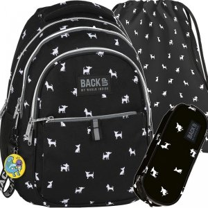 Plecak Piesek Chihuahua Młodzieżowy BackUP do Szkoły [PLB2A06]