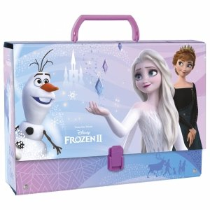 Kraina Lodu Gruba Teczka z Rączką Frozen dla Dziewczynki [TRGKL29]