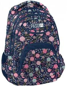 Plecak w Kwiaty Młodzieżowy Szkolny dla Uczennicy [PPMZ19-2708]