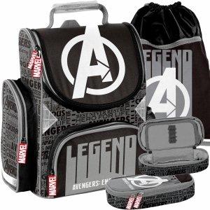 Chłopięcy Tornister Avengers do Szkoły Paso do 1 klasy [AMAL-525]