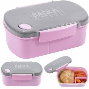 Śniadaniówka Pojemnik na Śniadanie Lunch Free BPA Różowa [SB4B36]