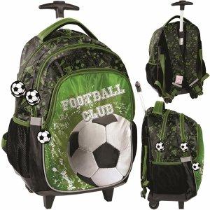 Plecak na Kółkach Piłkarski Szkolny dla Chłopaka z Piłką [PP20FO-997]