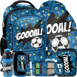 Football Plecak Szkolny do Szkoły Podstawowej Paso Piłkarski [PP21FT-260]