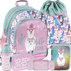 Plecak Szkolny w Lamy Ciekawy dla Dziewczyny [PP19LA-090]